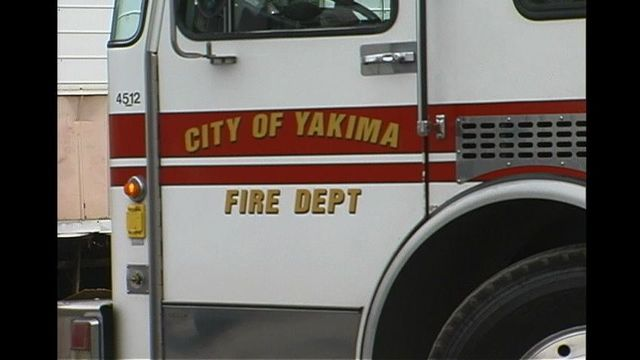 Late Night House Fire in Yakima