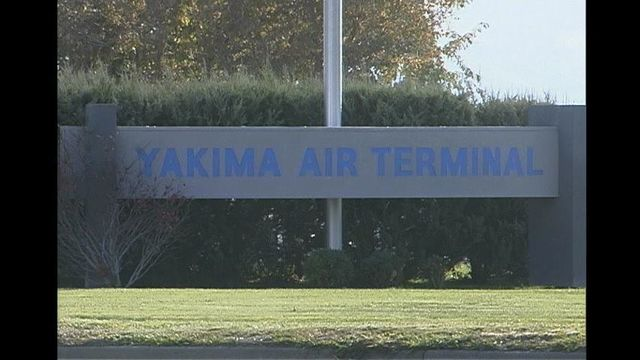 Small Plane Flips at the Yakima Airport