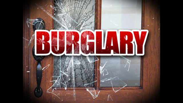 Burglary Suspect Arrested 'Blue Handed'