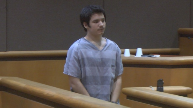 Murder Suspect in Court