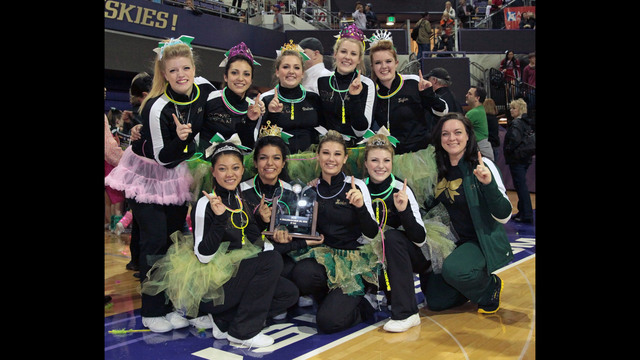 Richland High School Cheer Squad are State Champions