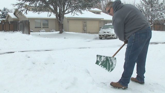 Heavy Snowfall Hits Yakima