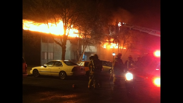 Lakeside Apartment Fire Early This Morning in Kennewick