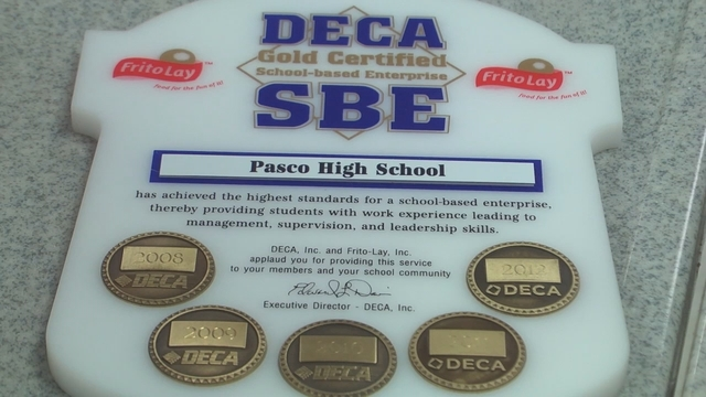 Pasco High School's DECA Club Gets Gold Certification
