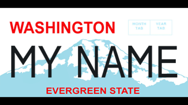 Senate OKs new license plate replacement rule in Wash.
