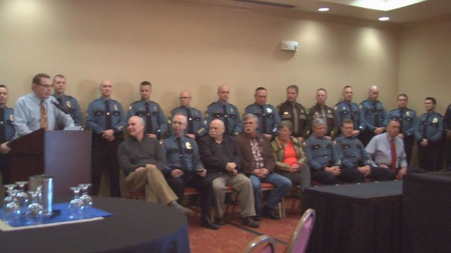 Officers Honored by City