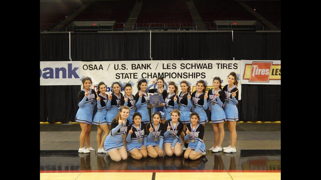 Riverside cheer squad in Boardman crowned 1A/2A/3A state champs