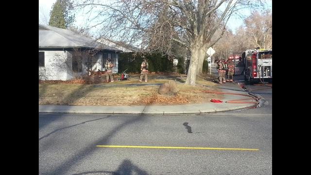 House Fire This Morning in Richland