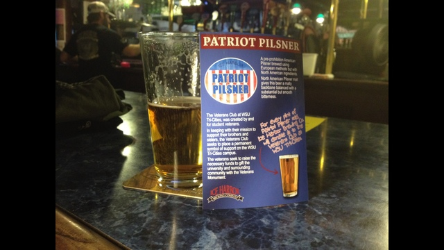 Patriot Pilsner on Tap at Ice Harbor