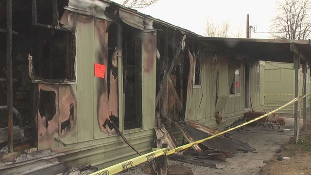 Fire Destroys Moxee Home