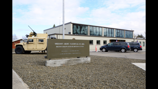 Oregon National Guard Ceremony Marks Re-Dedication of Milton-Freewater Readiness Center