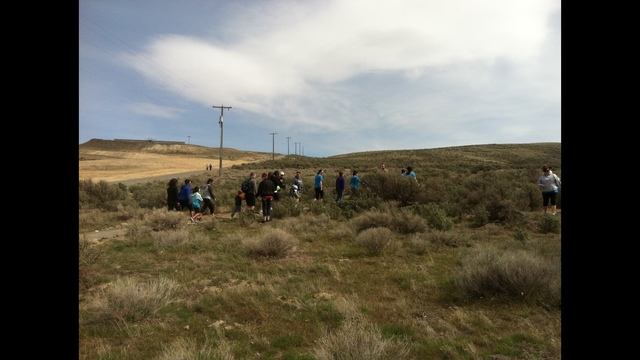 Dozens Join in the Hike for Autism Awareness This Afternoon
