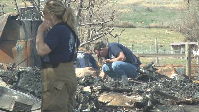 West Richland Home Owners Left Picking up the Pieces After Home is Destroyed in Fire