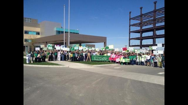 Trios Health Employees March To New Hospital