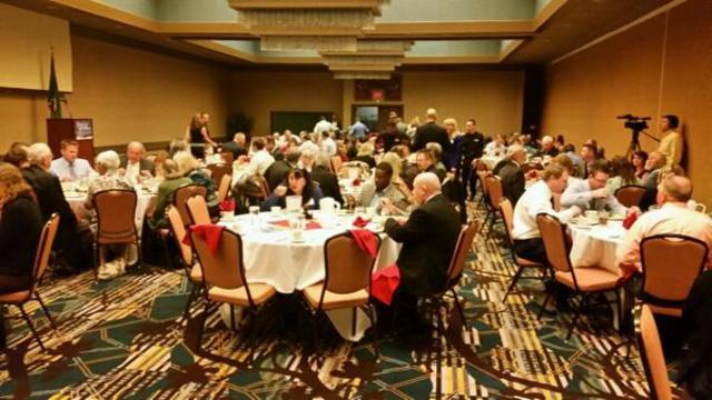 Congressional Candidates at Local Luncheon