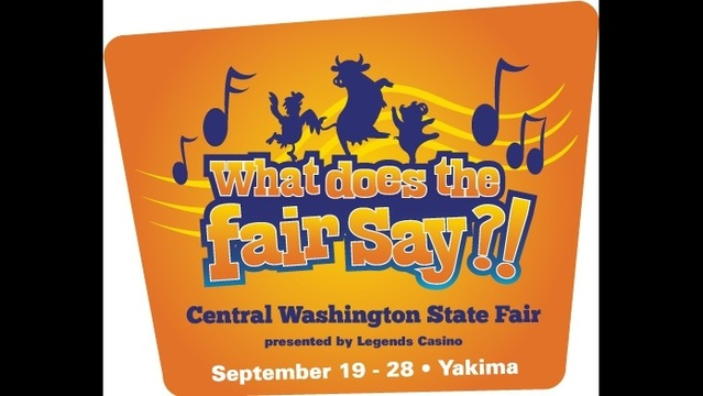 "New Central WA State Fair Theme Asks ""What Does the Fair Say?"""