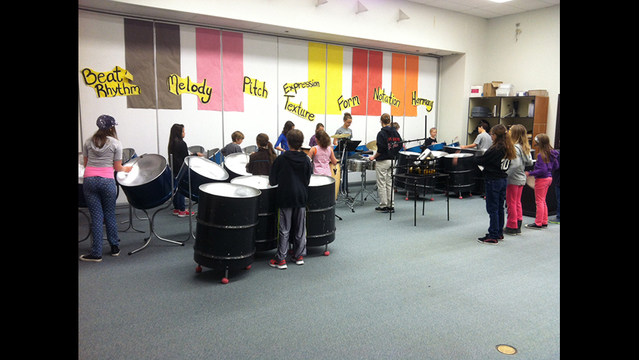 Tapteal Elementary Steel Drum Band to Tour Western Washington