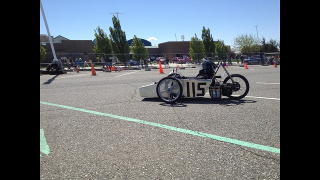 Electric Go Carts Race in Pasco