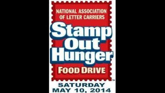 Stamp Out Hunger Food Drive Tomorrow
