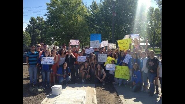 Ki-Be Students Protest: They've Had Enough