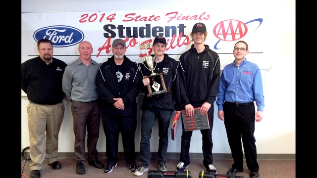 Tri-Tech Skills Center Earns First Place in Washington State Ford/AAA Student Auto Skills Competition State Finals