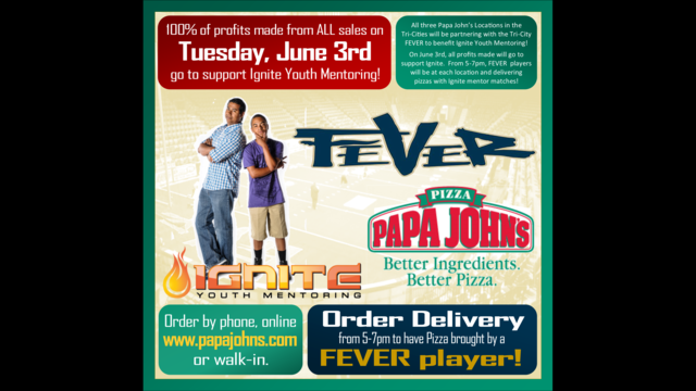 Fever Players Will Deliver Papa John's Tomorrow For A Good Cause