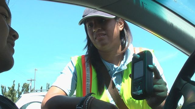 Researchers Randomly Test Volunteers For Impaired Driving