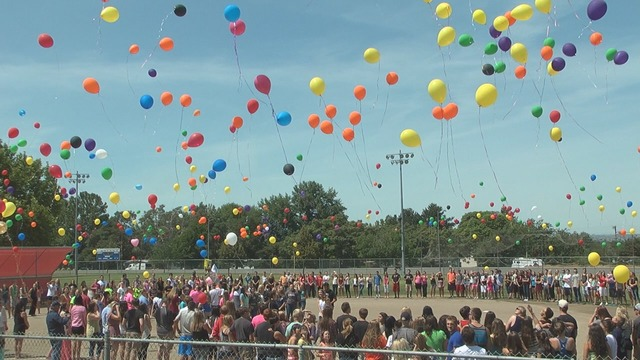Balloon Launch to Remember Kate & Ethan