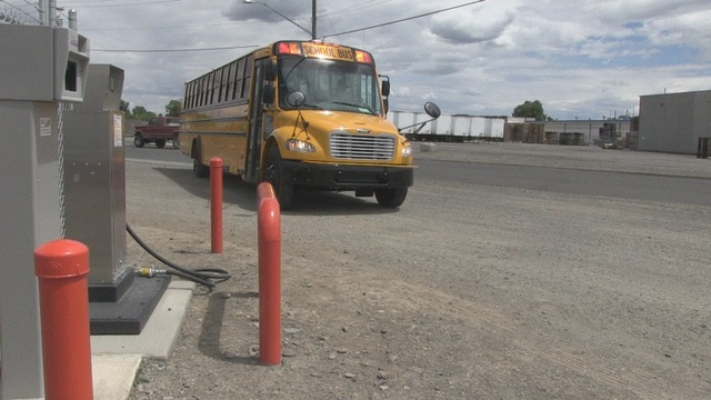 Propane Powered Buses for Toppenish Students