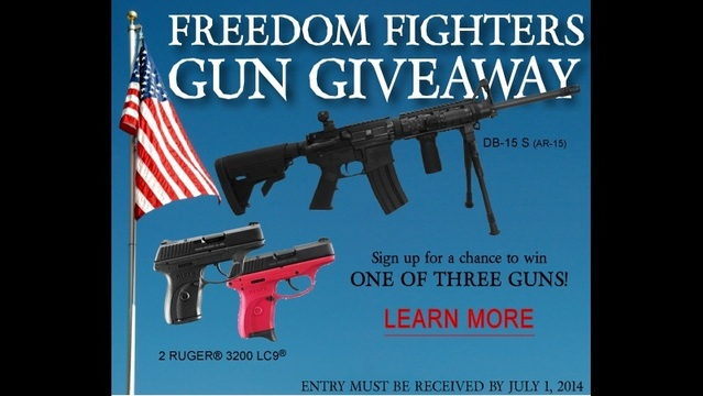 Congressional Candidate Giving Away Free Guns