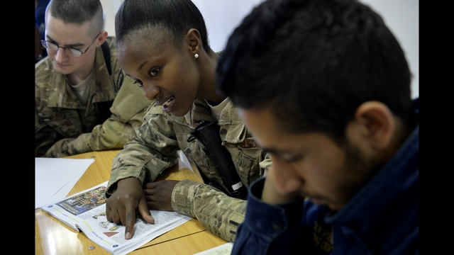 Air Force Staff Sergeant From Kenya To Kennewick Now Teaches English In Afghanistan