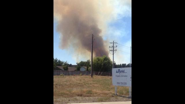 UPDATE: Natural Cover Fire in Richland Contained, No Structures Damaged