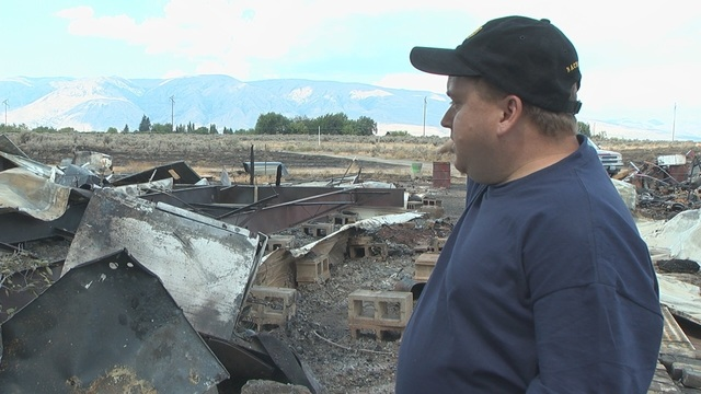 Naches Heights Firefighters Searching for Potential Arsonist