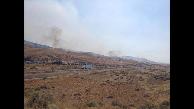 Brush Fires Keep Fire Crews Busy