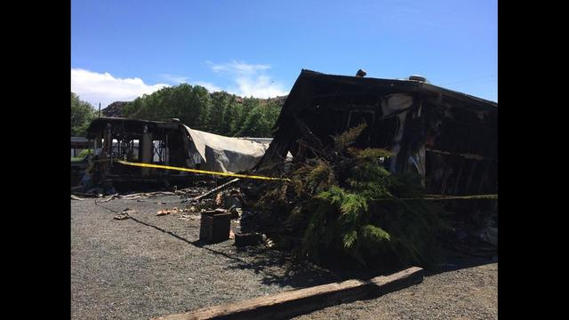 Two Homes Destroyed in Fire
