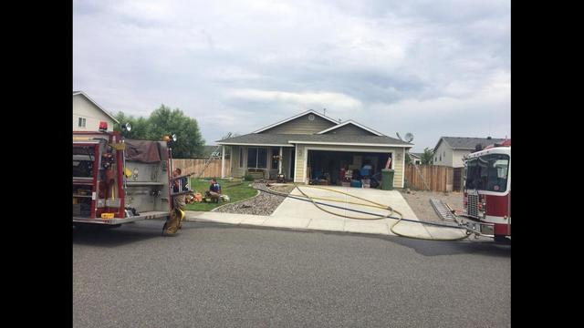 House Fire In Pasco Quickly Contained