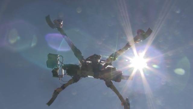 YVCC Students Quadcopter to Aid With Potential Fire Areas