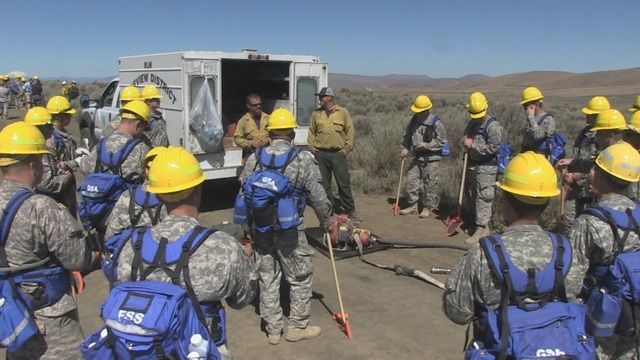 National Guard Preparing Troops to Help Fight Wildfires