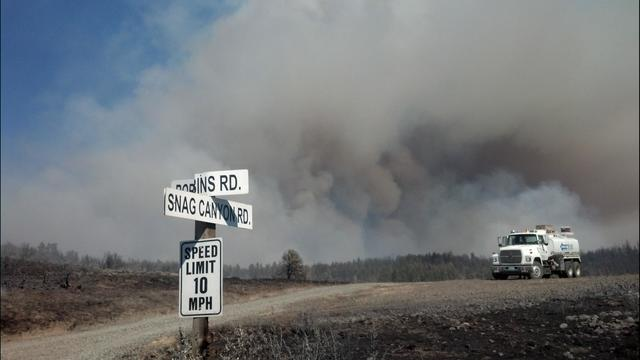 Snag Canyon Fire Grows Significantly, 10% Containment