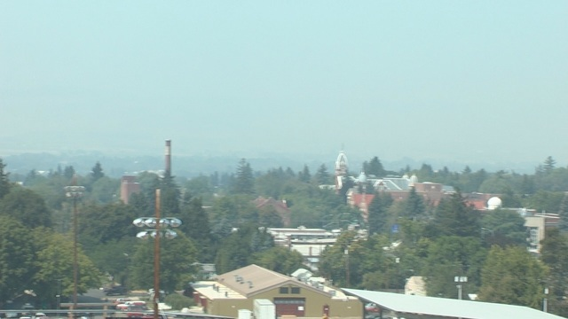 Wildfire Smoke Dampens Air Quality
