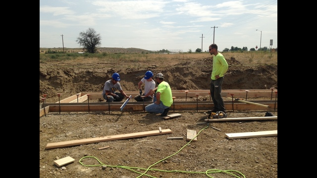 Students Break Ground on First Student-built Home in Hermiston