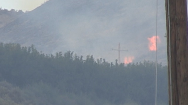 Fire in Selah Expected to be Fully Contained by Sundown