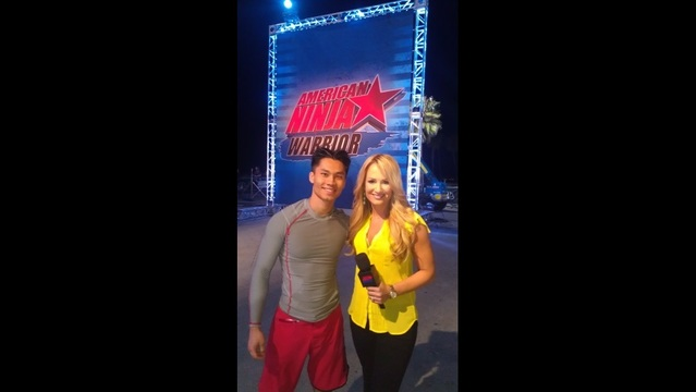 American Ninja Warrior Contestent Gives Inspirational Talk To High Schoolers