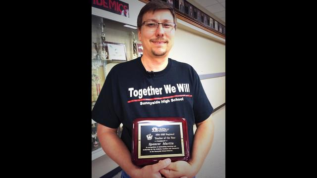 New Teacher of the Year Crowned