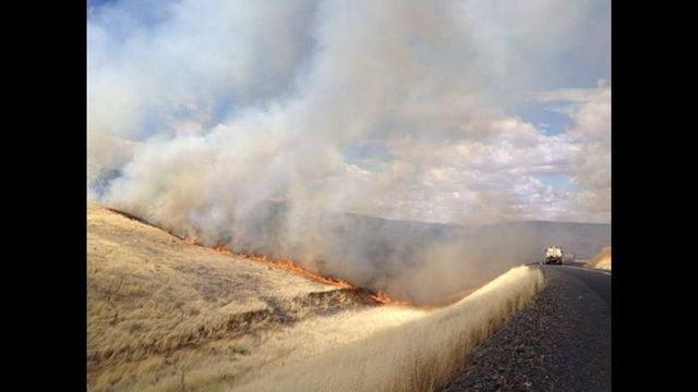 UPDATE: Crews mopping up Monument Rd. Fire in Walla Walla Co.
