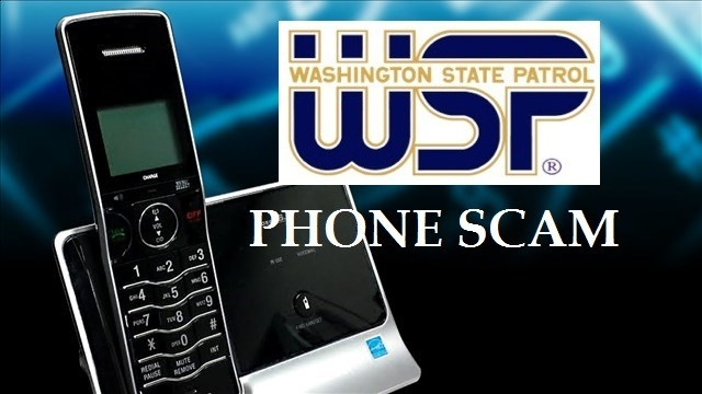 Phone Scams for WSP Donations