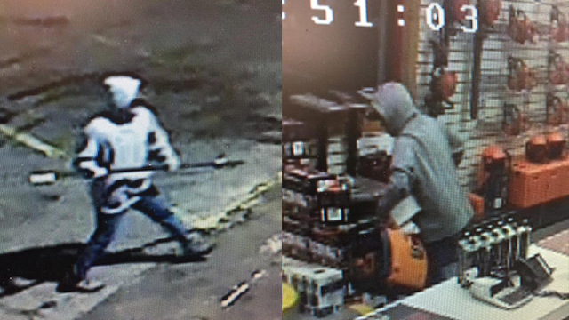 Kennewick Police searching for suspect in commercial break-in