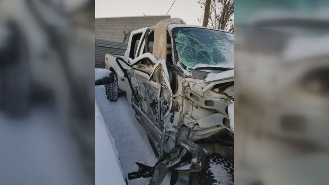 1-82 crash leaves local woman thankful for her life