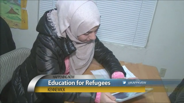 Local refugees receive education from nonprofit