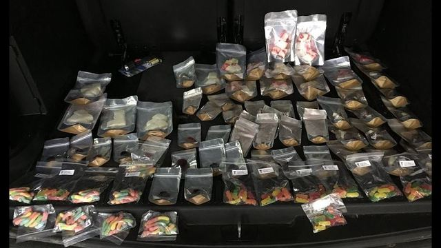 Kennewick police seize marijuana candy shop from vehicle